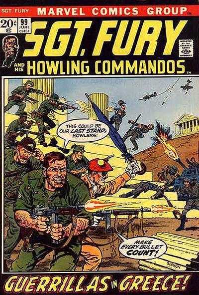 Sgt. Fury #99 Comic Books - Covers, Scans, Photos  in Sgt. Fury Comic Books - Covers, Scans, Gallery