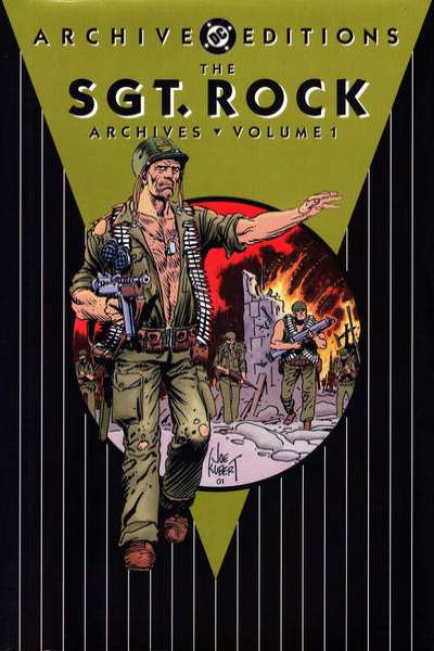 Sgt. Rock Archives - Hardcover comic books