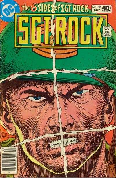 Sgt. Rock #342 comic books - cover scans photos Sgt. Rock #342 comic books - covers, picture gallery
