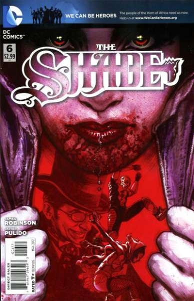 Shade #6 comic books - cover scans photos Shade #6 comic books - covers, picture gallery