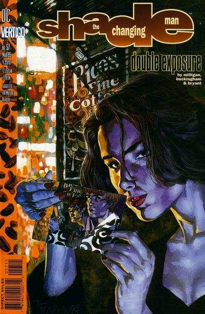 Shade: The Changing Man #57 comic books for sale
