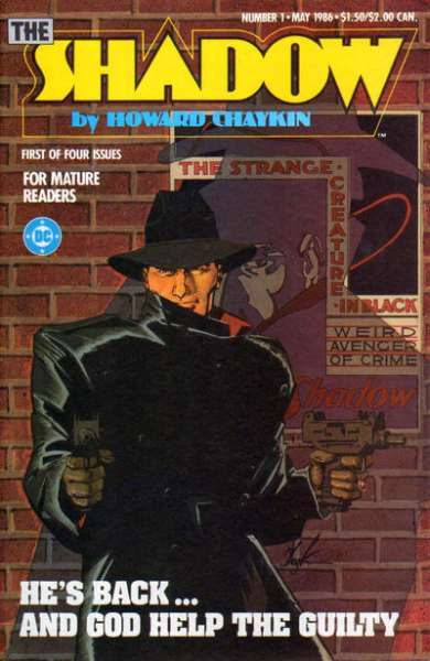 Shadow Comic Books. Shadow Comics.