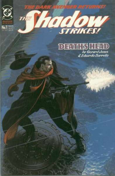 Shadow Strikes! Comic Books. Shadow Strikes! Comics.