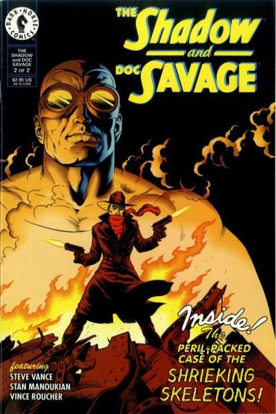 Shadow and Doc Savage #2 Comic Books - Covers, Scans, Photos  in Shadow and Doc Savage Comic Books - Covers, Scans, Gallery