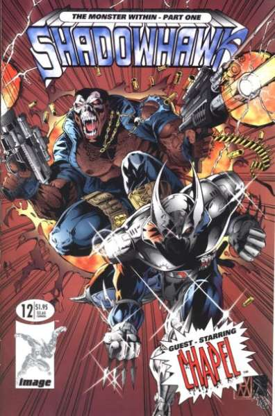 Shadowhawk #12 Comic Books - Covers, Scans, Photos  in Shadowhawk Comic Books - Covers, Scans, Gallery