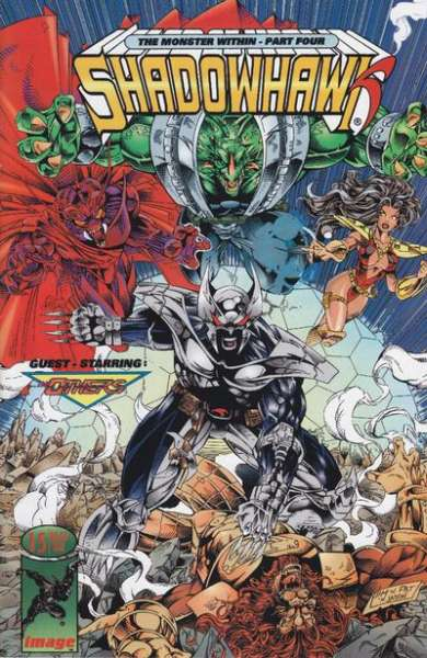 Shadowhawk #15 comic books for sale