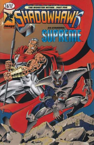 Shadowhawk #16 comic books for sale