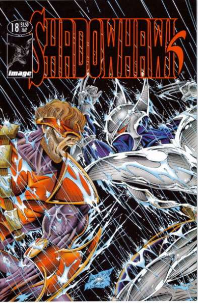 Shadowhawk #18 comic books for sale