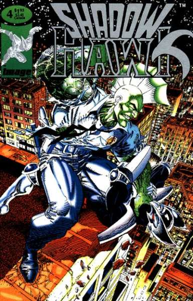 Shadowhawk #4 comic books for sale
