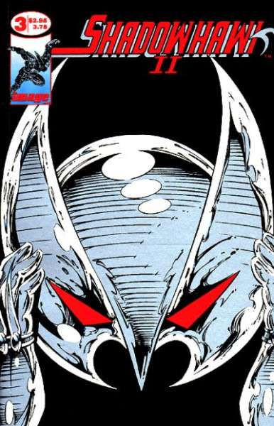 Shadowhawk II #3 comic books for sale