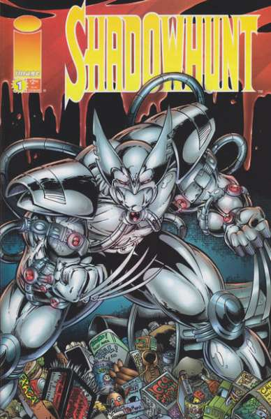 Shadowhunt #1 comic books - cover scans photos Shadowhunt #1 comic books - covers, picture gallery