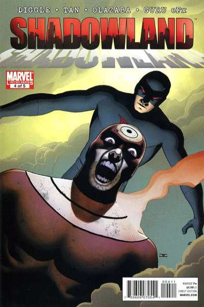 Shadowland #4 comic books - cover scans photos Shadowland #4 comic books - covers, picture gallery