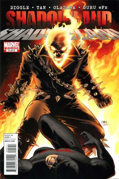 Shadowland #5 comic books - cover scans photos Shadowland #5 comic books - covers, picture gallery