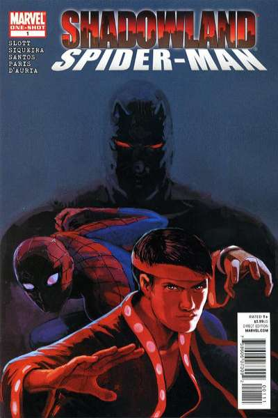 Shadowland: Spider-Man #1 comic books - cover scans photos Shadowland: Spider-Man #1 comic books - covers, picture gallery