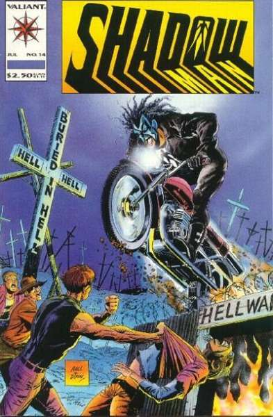 Shadowman #14 comic books for sale