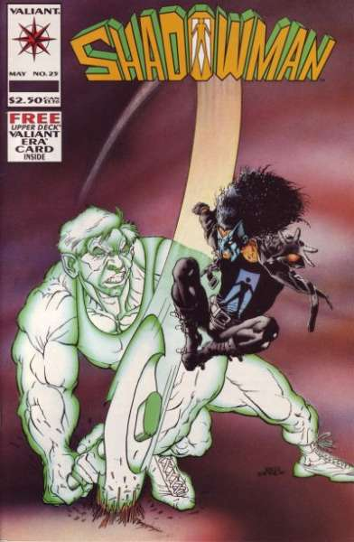 Shadowman #25 Comic Books - Covers, Scans, Photos  in Shadowman Comic Books - Covers, Scans, Gallery