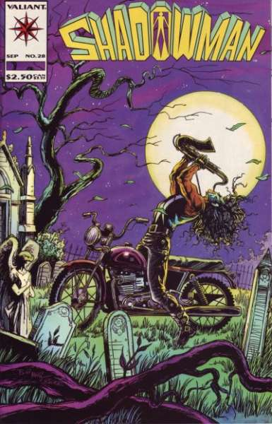 Shadowman #28 comic books for sale
