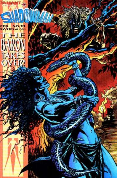 Shadowman #33 Comic Books - Covers, Scans, Photos  in Shadowman Comic Books - Covers, Scans, Gallery