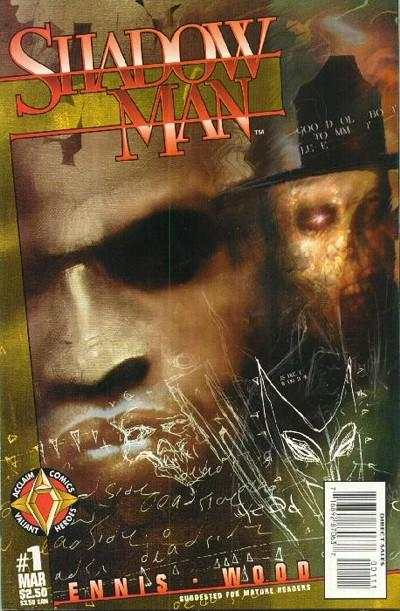 Shadowman comic books