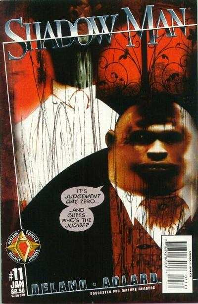 Shadowman #11 comic books - cover scans photos Shadowman #11 comic books - covers, picture gallery