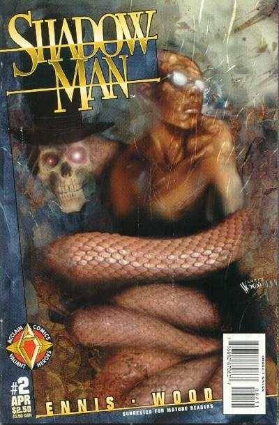Shadowman #2 comic books - cover scans photos Shadowman #2 comic books - covers, picture gallery