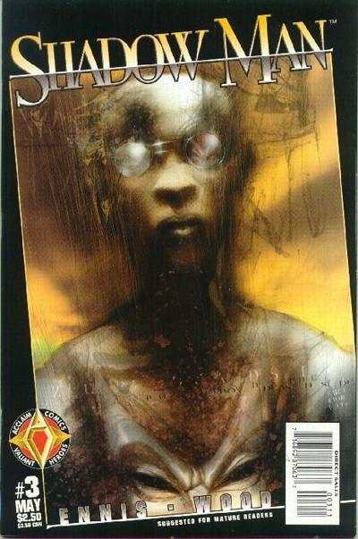 Shadowman #3 comic books - cover scans photos Shadowman #3 comic books - covers, picture gallery