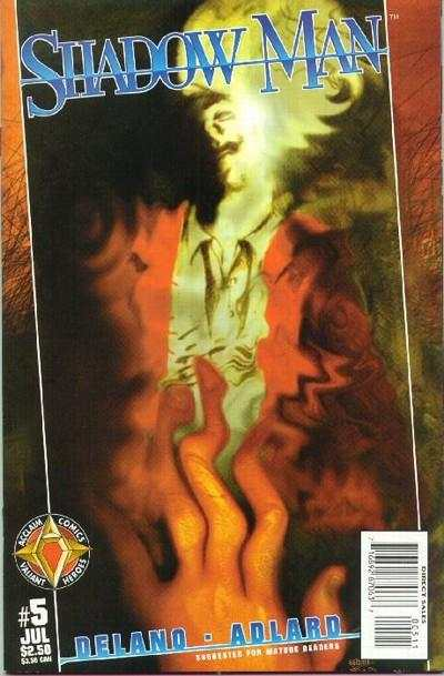 Shadowman #5 Comic Books - Covers, Scans, Photos  in Shadowman Comic Books - Covers, Scans, Gallery