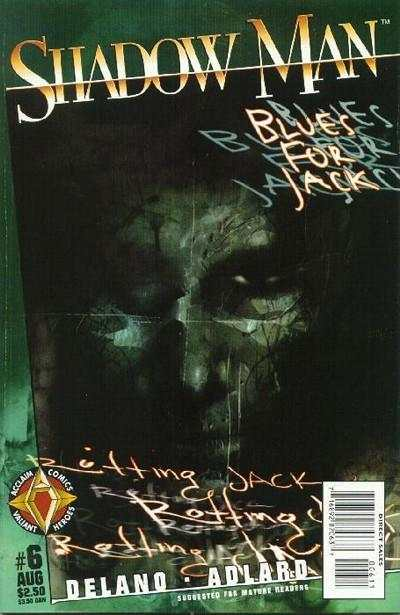 Shadowman #6 Comic Books - Covers, Scans, Photos  in Shadowman Comic Books - Covers, Scans, Gallery