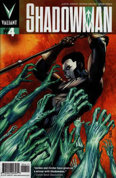 Shadowman #4 Comic Books - Covers, Scans, Photos  in Shadowman Comic Books - Covers, Scans, Gallery