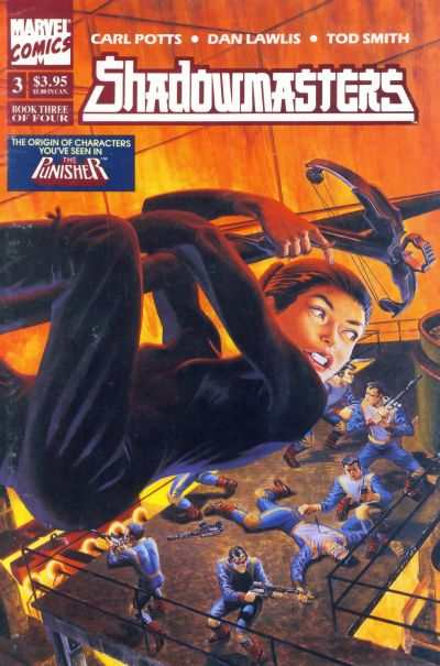 Shadowmasters #3 comic books - cover scans photos Shadowmasters #3 comic books - covers, picture gallery