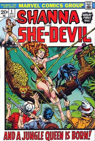 Shanna: The She-Devil #1 Comic Books - Covers, Scans, Photos  in Shanna: The She-Devil Comic Books - Covers, Scans, Gallery
