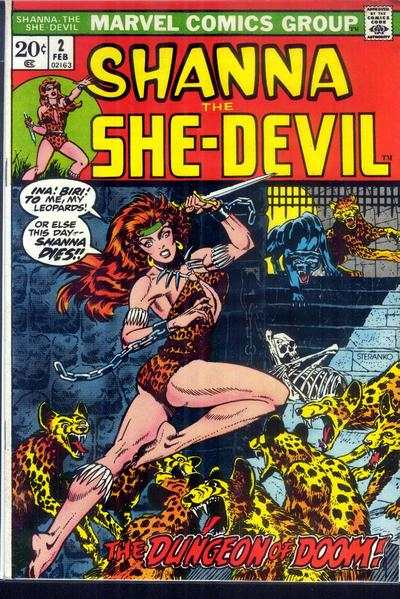 Shanna: The She-Devil #2 comic books - cover scans photos Shanna: The She-Devil #2 comic books - covers, picture gallery