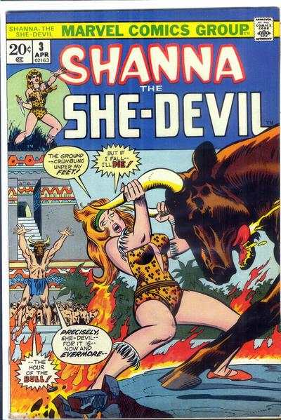 Shanna: The She-Devil #3 Comic Books - Covers, Scans, Photos  in Shanna: The She-Devil Comic Books - Covers, Scans, Gallery