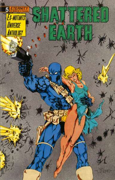 Shattered Earth #5 Comic Books - Covers, Scans, Photos  in Shattered Earth Comic Books - Covers, Scans, Gallery