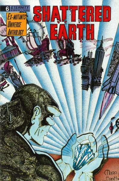 Shattered Earth #6 Comic Books - Covers, Scans, Photos  in Shattered Earth Comic Books - Covers, Scans, Gallery