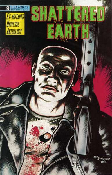 Shattered Earth #9 comic books for sale