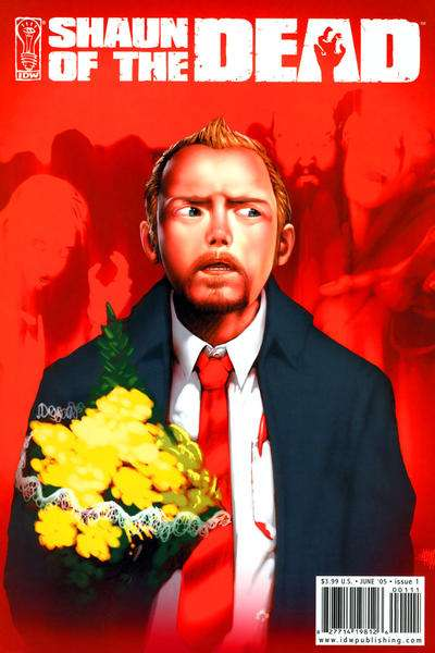Shaun of the Dead #1 comic books - cover scans photos Shaun of the Dead #1 comic books - covers, picture gallery