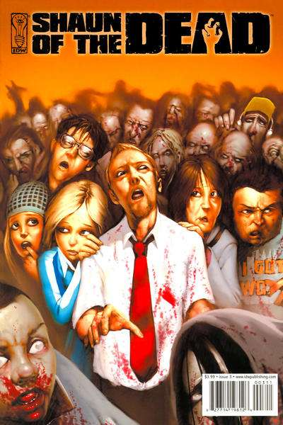 Shaun of the Dead #3 Comic Books - Covers, Scans, Photos  in Shaun of the Dead Comic Books - Covers, Scans, Gallery
