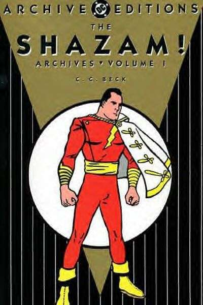 Shazam! Archives - Hardcover comic books