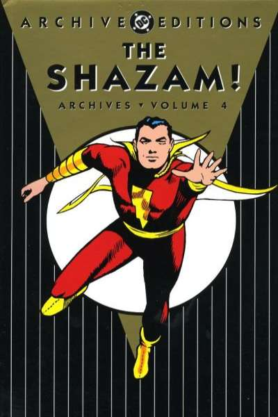 Shazam! Archives - Hardcover #4 comic books - cover scans photos Shazam! Archives - Hardcover #4 comic books - covers, picture gallery