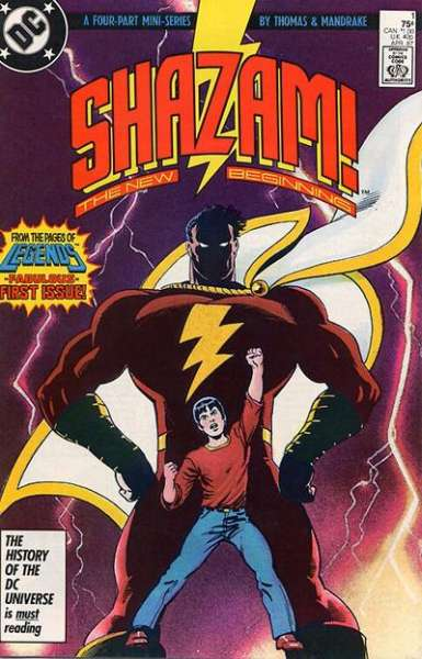 Shazam! The New Beginning #1 Comic Books - Covers, Scans, Photos  in Shazam! The New Beginning Comic Books - Covers, Scans, Gallery