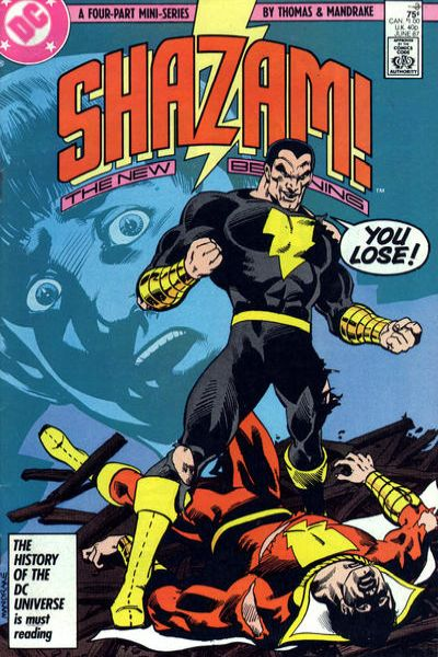 Shazam! The New Beginning #3 Comic Books - Covers, Scans, Photos  in Shazam! The New Beginning Comic Books - Covers, Scans, Gallery