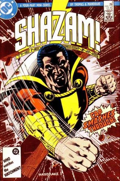 Shazam! The New Beginning #4 Comic Books - Covers, Scans, Photos  in Shazam! The New Beginning Comic Books - Covers, Scans, Gallery