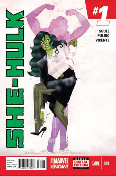 She-Hulk #1 comic books for sale