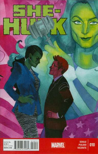 She-Hulk #10 Comic Books - Covers, Scans, Photos  in She-Hulk Comic Books - Covers, Scans, Gallery