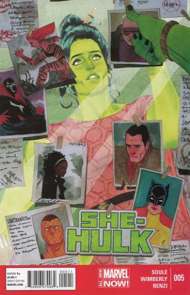 She-Hulk #5 comic books - cover scans photos She-Hulk #5 comic books - covers, picture gallery
