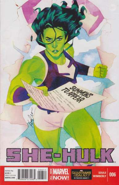 She-Hulk #6 comic books for sale
