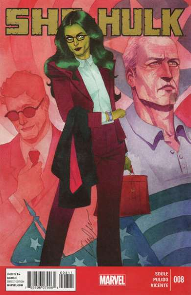 She-Hulk #8 Comic Books - Covers, Scans, Photos  in She-Hulk Comic Books - Covers, Scans, Gallery
