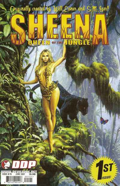 Sheena: Queen of the Jungle #1 comic books - cover scans photos Sheena: Queen of the Jungle #1 comic books - covers, picture gallery