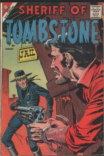 Sheriff of Tombstone #2 Comic Books - Covers, Scans, Photos  in Sheriff of Tombstone Comic Books - Covers, Scans, Gallery